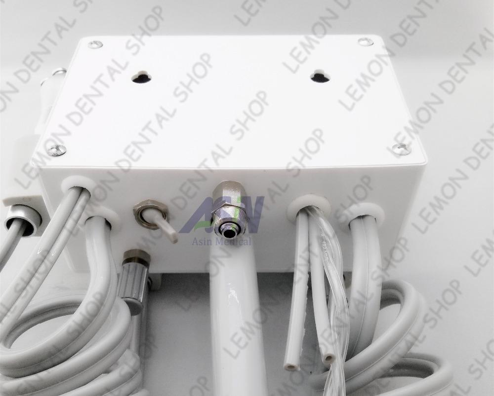 Wall Type Hanging Dental Lab Portable Turbine Plastic Shell Unit Air Compressor 3 way Syringe Handpiece 2 pcs 4 Holes(China (Mainland))