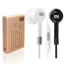 New Hot Sale ! Top Quality 3.5mm Wired In-ear Headphone Noise Cancelling Headset Remote Control Earphone for Xiaomi M2 M1 1S