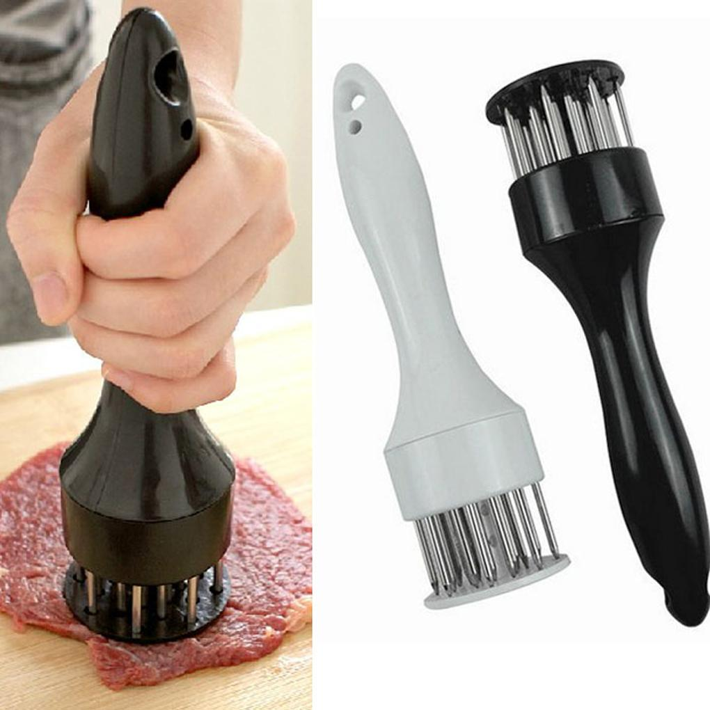 Steak Pork Chop Fast Loose Meat Tenderizer Needle Stainless Steel Tender Meat Hammer 20X5cm Mincer Kitchen Helper(China (Mainland))