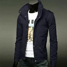 2015 men's fashion casual long-sleeved jacket jacket men Men's classic version type collar cardigan jacket Fall Men's Jackets(China (Mainland))