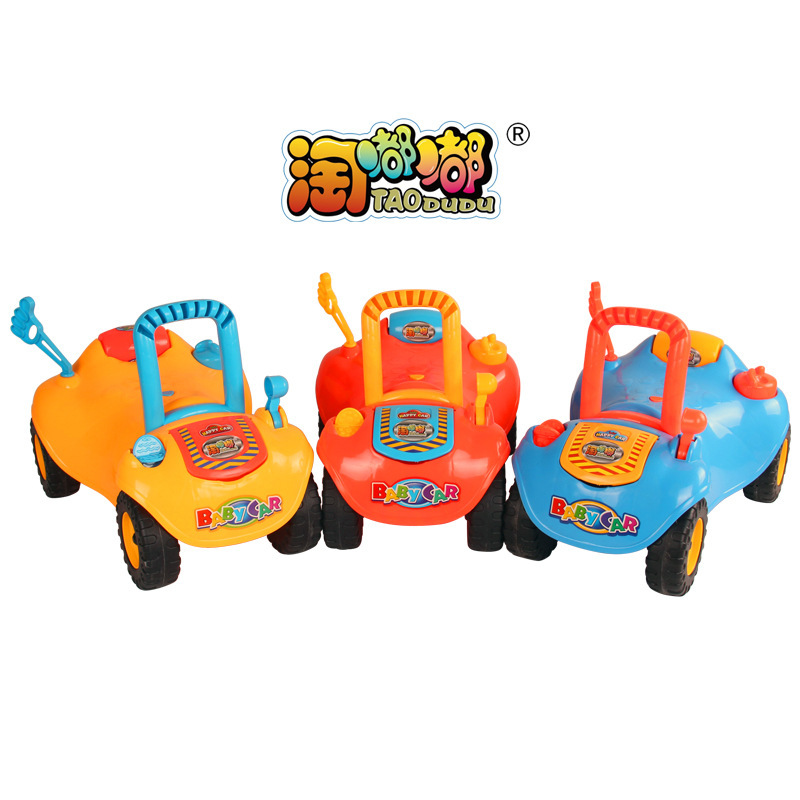 1-4years baby walker car ride on toys kids children four wheel infant walkers car boys sport toy free shipping 291(China (Mainland))