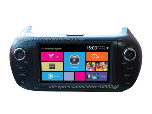 Citroen Nemo 2008~2013 - Car Stereo Radio DVD Player GPS Navigation 1080P Touch Screen W8 Multimedia System  -  Kaibo Store store