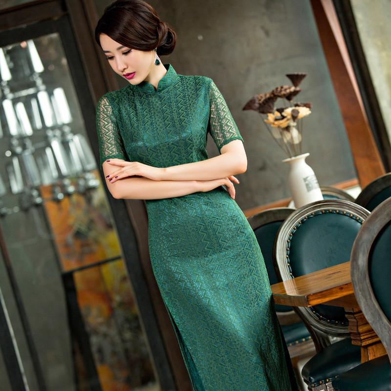 Silk Dresses nz Dress Silk Cheongsam Dress