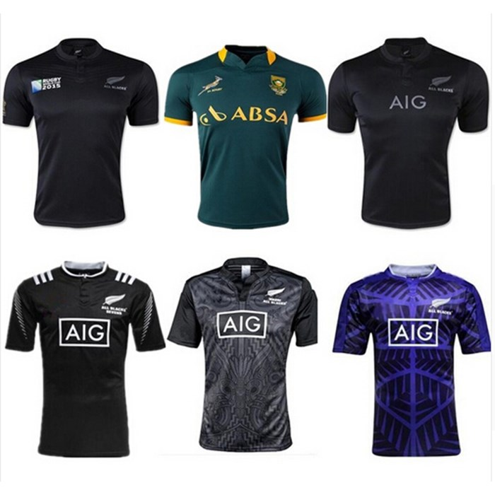 2017 2016 Rugby jersey all New Zealand Ireland lions France England Scotland men Home Away Shirts Top super rugby ball jerseys(China (Mainland))