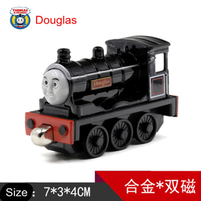 Diecast Metal Thomas and Friends Train One Piece DOUGLAS Megnetic Train Toy The Tank Engine Trackmaster Toy For Children Kids(China (Mainland))