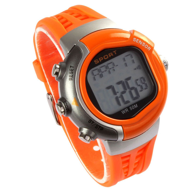 Superior New Fashion Fitness Heart Rate Monitor Sport Watch Calories Counter Waterproof Watch July15<br><br>Aliexpress