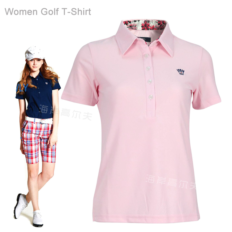 Plus size womens golf clothing promotion shop for for Plus size golf polo shirts
