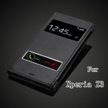 Чехол книжка для Sony Xperia Z3 D6603 D6643 D6653 D6616 D6633 с вырезами