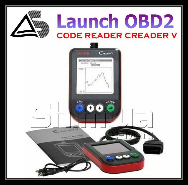 Top 2012 Latest OBD Code CReader V Free shippping (Wholesale and Retail)