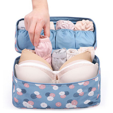 Organizadores Accessories Women Girl Bra Underwear Lingerie Storage Box Organizer Travel Toiletry Box Wash Storage Case Bra Bag(China (Mainland))
