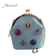 Buy Women Bag Handbags Shoulder Crossbody Sling Summer Leather Chain Small Flap Candy Color Cute Girl High Designer for $12.34 in AliExpress store