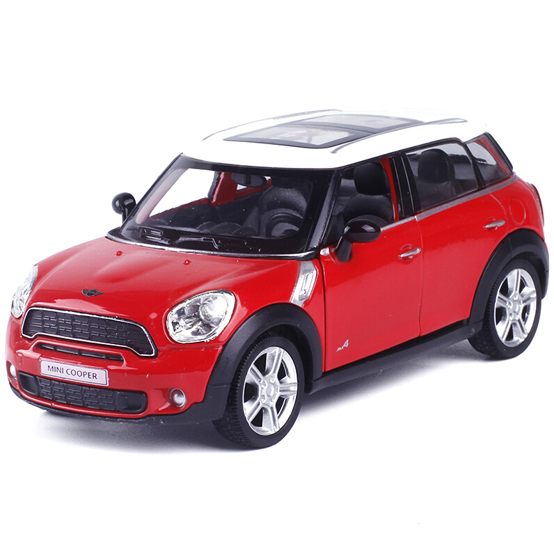 RMZ City Mini Cooper Countryman 1:36 Scale 5 Inch Diecast Model Car Toys Best Gift for Children(China (Mainland))