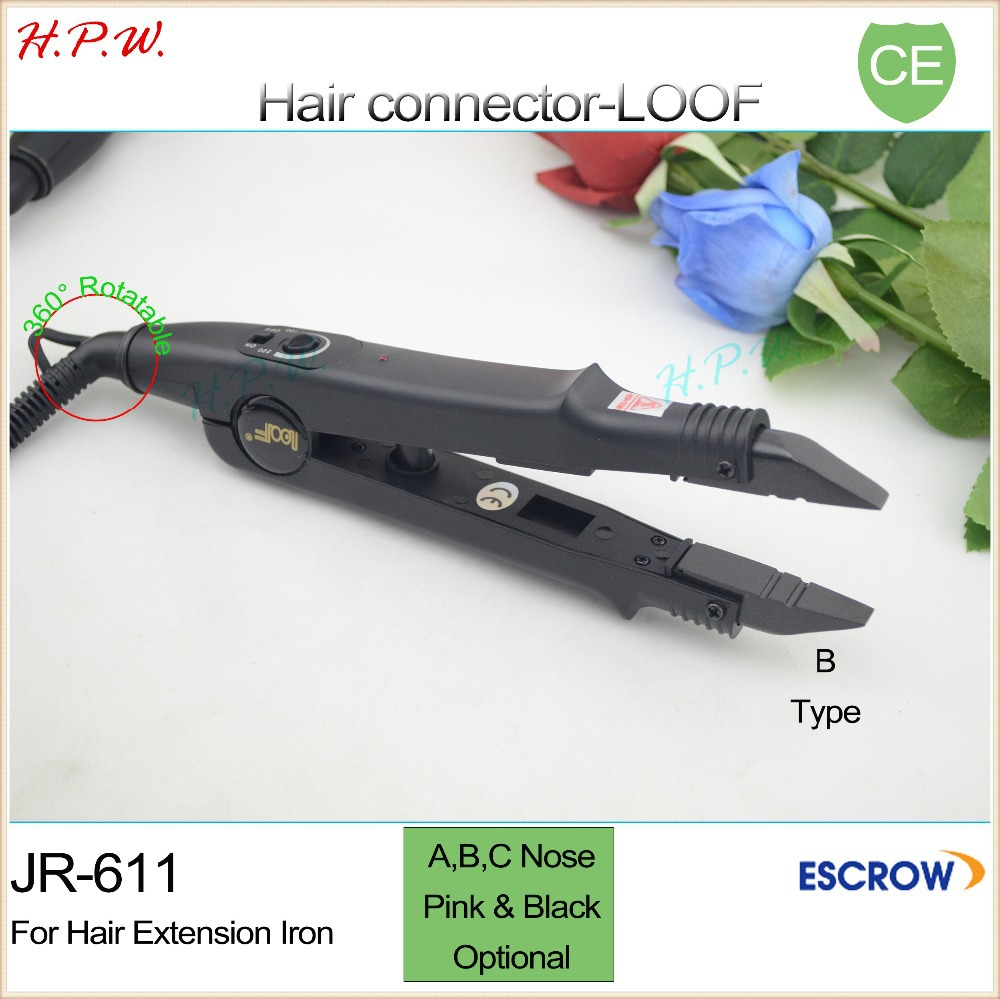 H.P.W. 50pcs JR-611 A/B/C tip Professional Hair tools for hair connector / hair fusion iron / hair extension heating wands(China (Mainland))