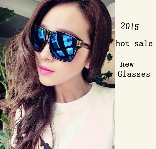hot sale2015 fashion retro eyewear acetate Frame Reflective Mirror square actresses big sunglasses, ty3373(China (Mainland))