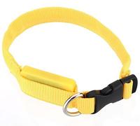 pricefox привело собака ПЭТ мигающий свет вверх безопасности многоцветные воротник