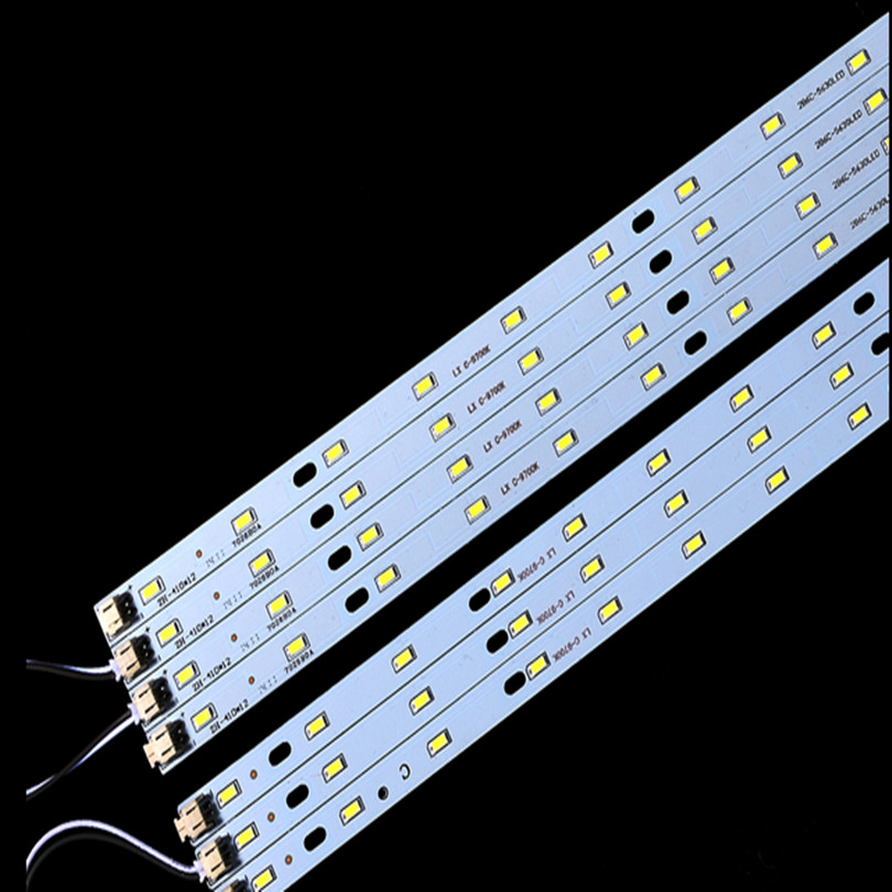 Directly ac 220v LED rigid strip Driverless for T5 T8 Tube, 5w 6w 8w 10w 180-260v SMD 5730 led pcb bar light 10pc free shipping(China (Mainland))