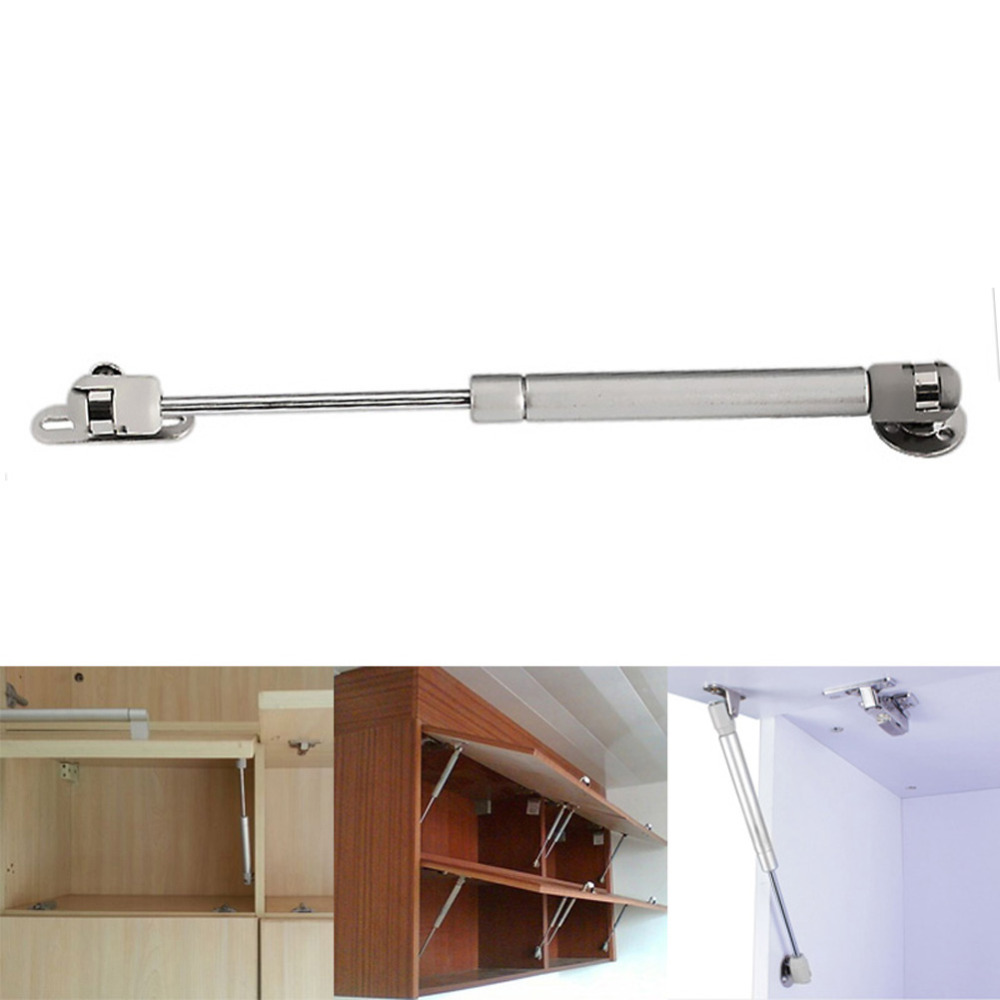 D1U#  New Arrival  Door Lift Pneumatic Support Hydraulic Gas Spring Stay for Cabinet White Free Shipping <br><br>Aliexpress