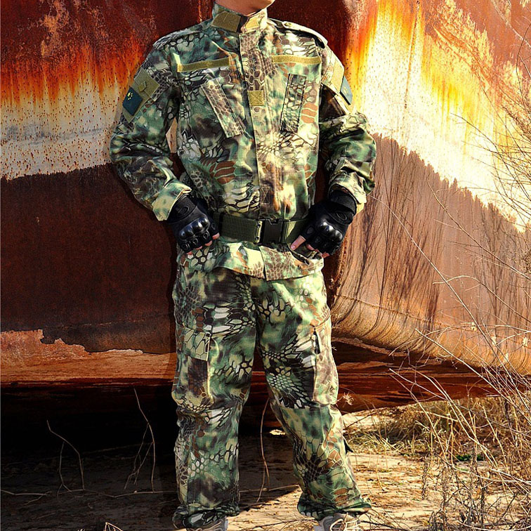 Male Cotton BDU Camouflage Hunting Suit Wargame CS Paintball Airsoft U.S Military Suit Set (Tactical Jacket+Tactical Pants) XXXL(China (Mainland))