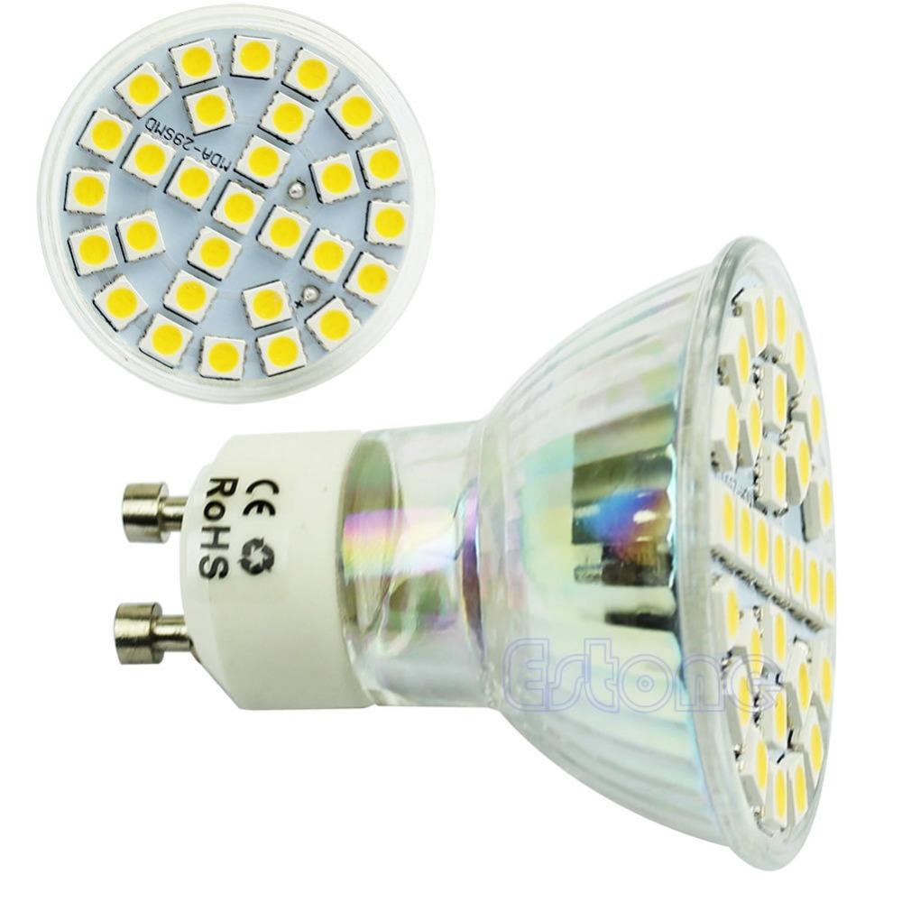 Гаджет  220V 5W 29 LED 5050 SMD 480LM Spotlight Bulb Lamp GU10 E27 E14 Base Free Shipping None Свет и освещение