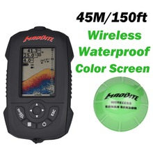 New 100M Waterproof Portable Sonar LCD Fish Finders Fishing Iure Echo Sounder Fishing Finders Wireless Fishing Tackle Finder(China (Mainland))