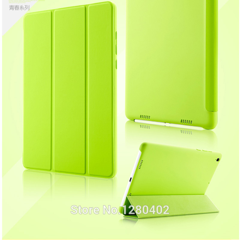 Ultrathin Xiaomi Mipad Case Smart Stand Cover With Automatic Sleep Wake up Funda xiaomi mipad Capa