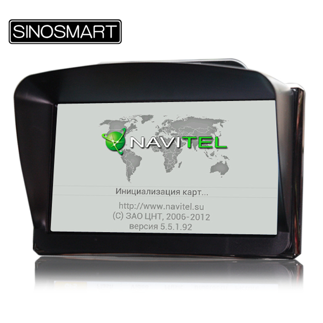 In Stock 7 inch Vehicle GPS Portable Navigation System SiRF Atlas-VI CPU 800MHz 256MB DDR3 8GB Nandflash DUN with Sunshade