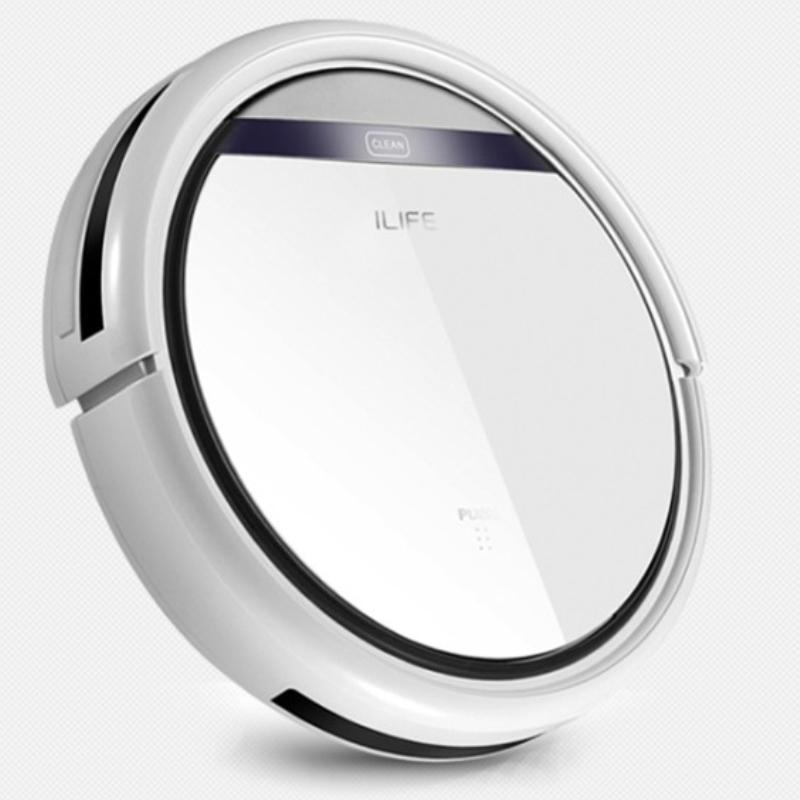 ILIFE Intelligent Robot Vacuum Cleaner for Home HEPA Filter, Cliff sensor,Remote Control Self Charge V3 V3+ ROBOT ASPIRADOR(China (Mainland))