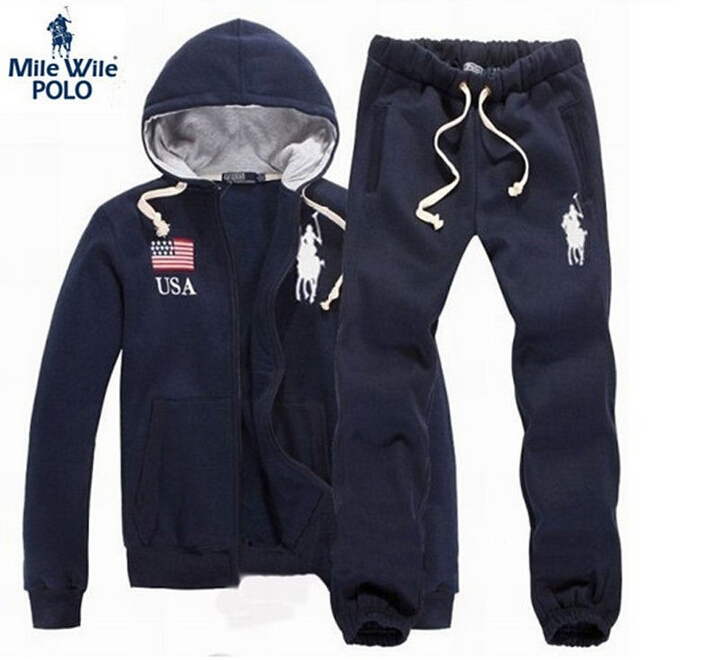 Brand Polo Men Hoodies Tracksuit sueter masculino Hoodies Men Sweatshirts mens tracksuit set Sport Suit Men Jackets Track Suit(China (Mainland))