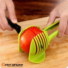 Novel Tomato Slicer Fruits Cutter Stand Utensilios De Cozinha Assistant Lounged Tomato Lemon Shreadders Slicer(China (Mainland))