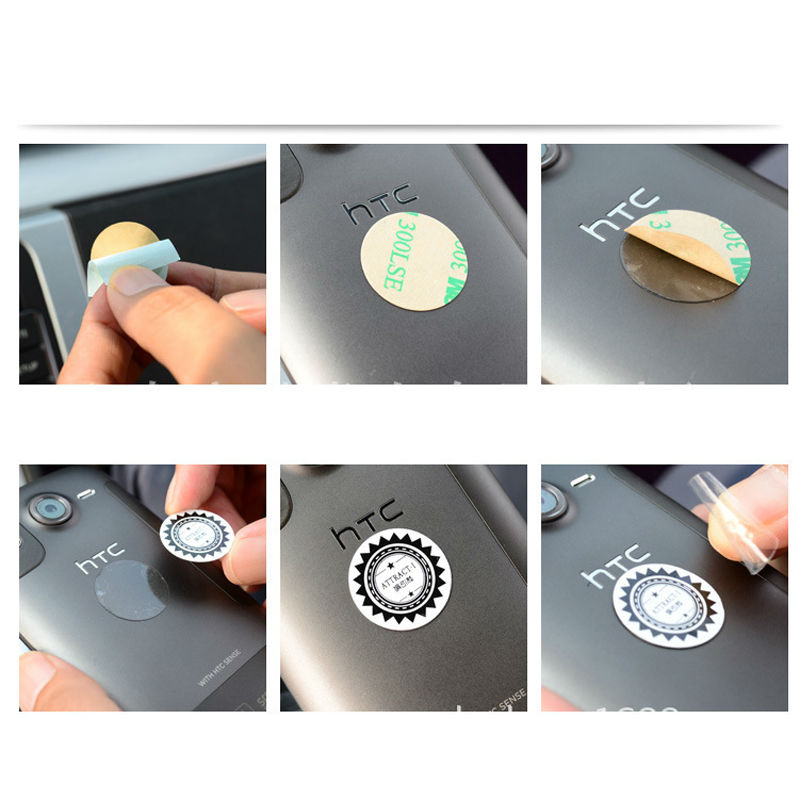50Pcs 360 Degree Universal Car Holder Magnetic Air Vent Mount Smartphone Dock Mobile Phone Holder Cell Phone Holder Stands
