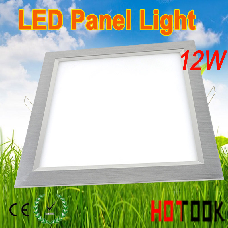 Здесь можно купить  3014 led Panel Downlight recessed indoor lighting LED Ceiling 12W Square 30x30 cm led lamp 85~265V warranty 2 years CE & RoHS  Свет и освещение