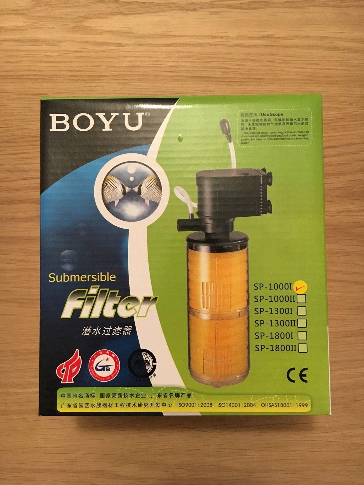 Boyu aquarium fish tank external filter canister ef 05 - Boyu Sp 1000i Submersible Aquarium Filter China Mainland
