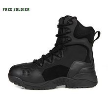 FREE SOLDIER outdoor hiking&climbing shoes hiking mountain desert boots Off-road senior 6 inch tactical boots(China (Mainland))