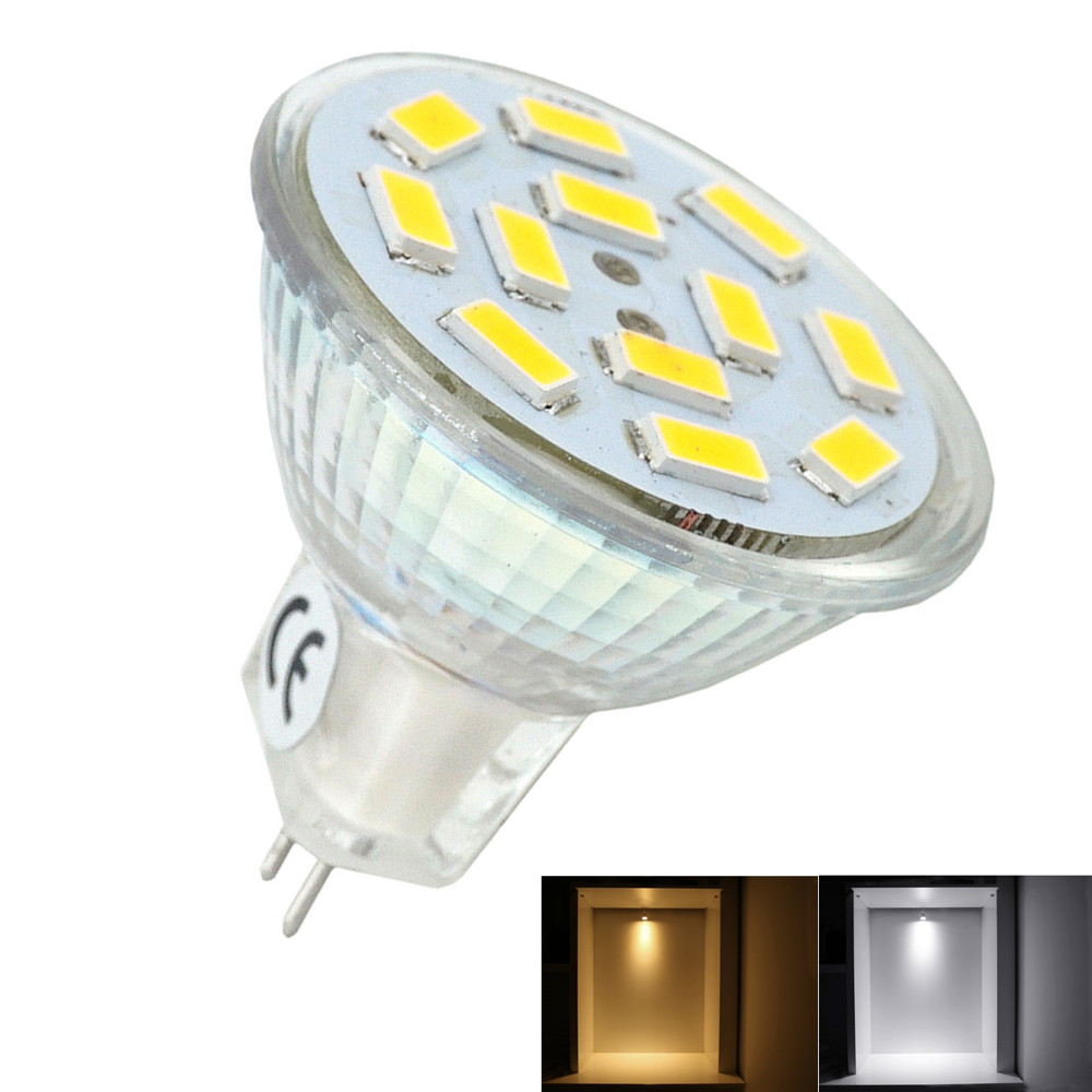 2W LED MR11 Light Bulb 10-30V GU4/G4 Bi-pin Base LED Spotlight 20W Mr11 Halogen Lamp Replacement for Recessed Track Lighting(China (Mainland))