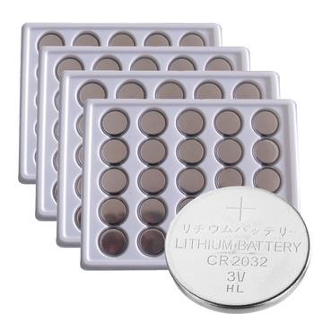 100 x PKCELL CR2032 3V Lithium Batteries BR2032 DL2032 ECR2032 CR 2032 Button Coin Battery