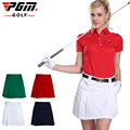 PGM New Ladies Golf skirt Golf antifade sportswear skirts pleated womens sports shorts freeshipping