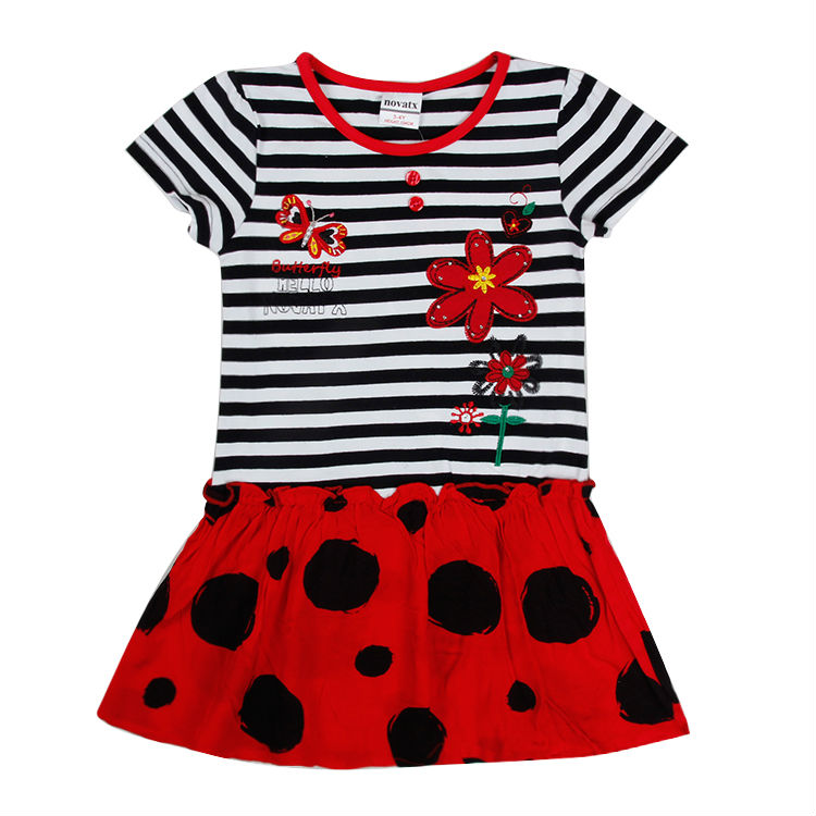 Baby girl dress nova brand flower girls party Princess Dresses kids clothes children clothing toddler summer