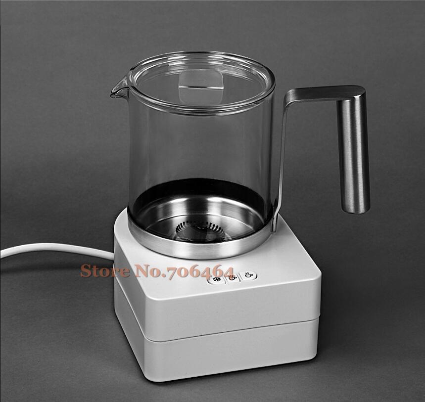 Automatique milke électrique café lait bulle dispositif cappuccino latte moussant chauffage maker acier inoxydable machine à chocolat chaud(China (Mainland))