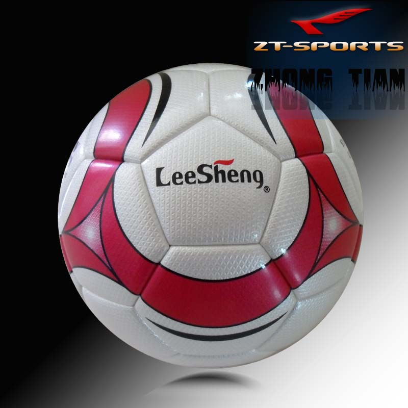 Free shipping official size 5  soccer balls LeeSheng football match balls high quality