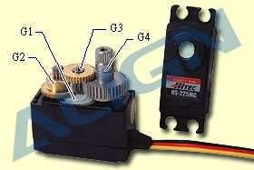 Hitec servo gear set for HS-205/225MG/5245MG(China (Mainland))