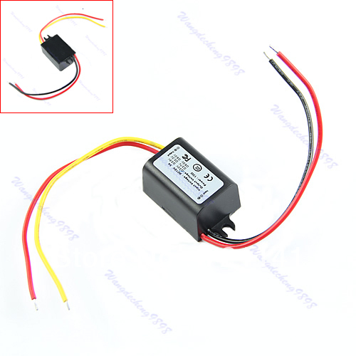 C18 Waterproof DC/DC Converter 12V Step Down to 9V 3A 15W Power Supply Module(China (Mainland))
