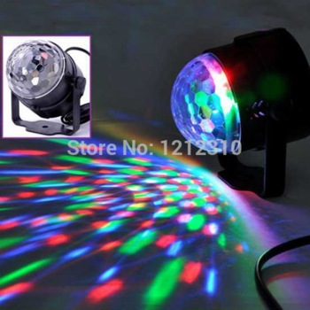 Moving Head Laser Projector Sound Lights Digital RGB LED Crystal Magic Ball DMX Stage Effect Light Disco Home Entertainment(China (Mainland))