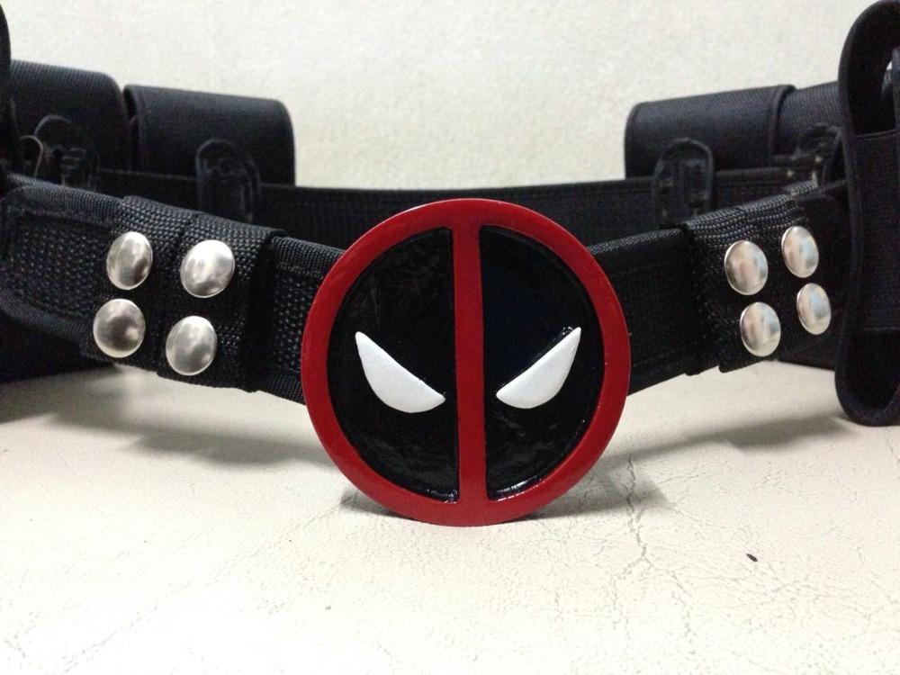 Здесь можно купить  Deadpool Cosplay Belt with Metal Buckle Halloween Costume  Одежда и аксессуары