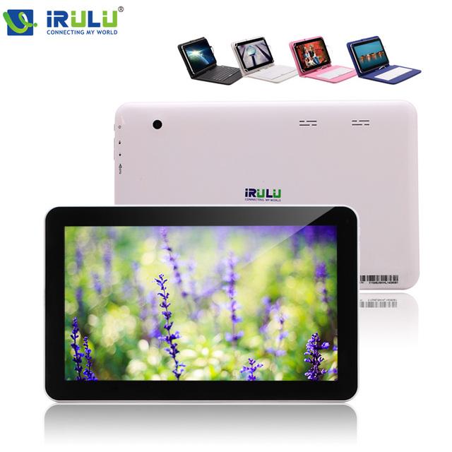 """Irulu 10.1 """" планшет пк четырехъядерный процессор 16 ГБ оперативной памяти android-4.2 5.1 планшет компьютер двойная камера Bluetooth внешний 3 г WIFI с клавиатура чехол"""