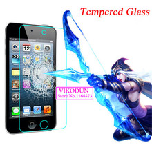 For iPod Touch 5 5G glass film 9H Tempered Glass Screen Protector Ultra Thin HD clear Explosion-proof glass screen protection