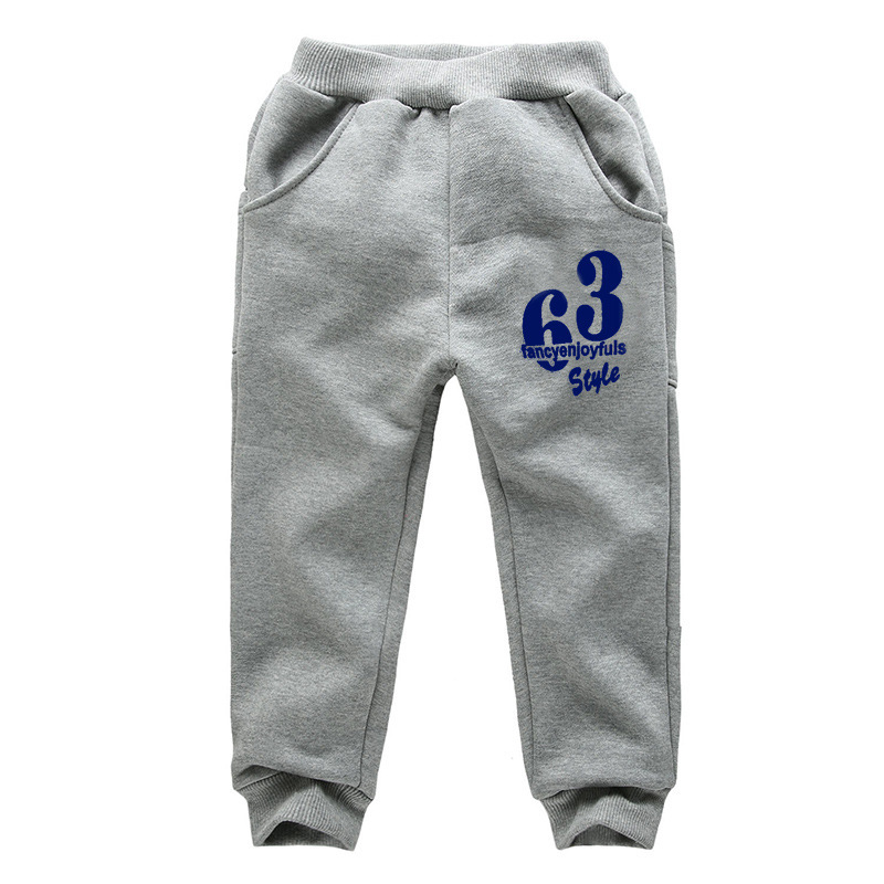 Spring Autumn Boys Jogging Pants Printed Letters Sports Pants For Boys And Girls 2-7 Years Children Trousers Kids Sweatpants(China (Mainland))