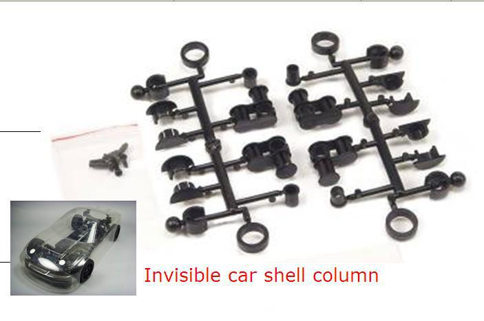 rc car accessories invisible car shell column for the 1/10 RC car free shipping(China (Mainland))
