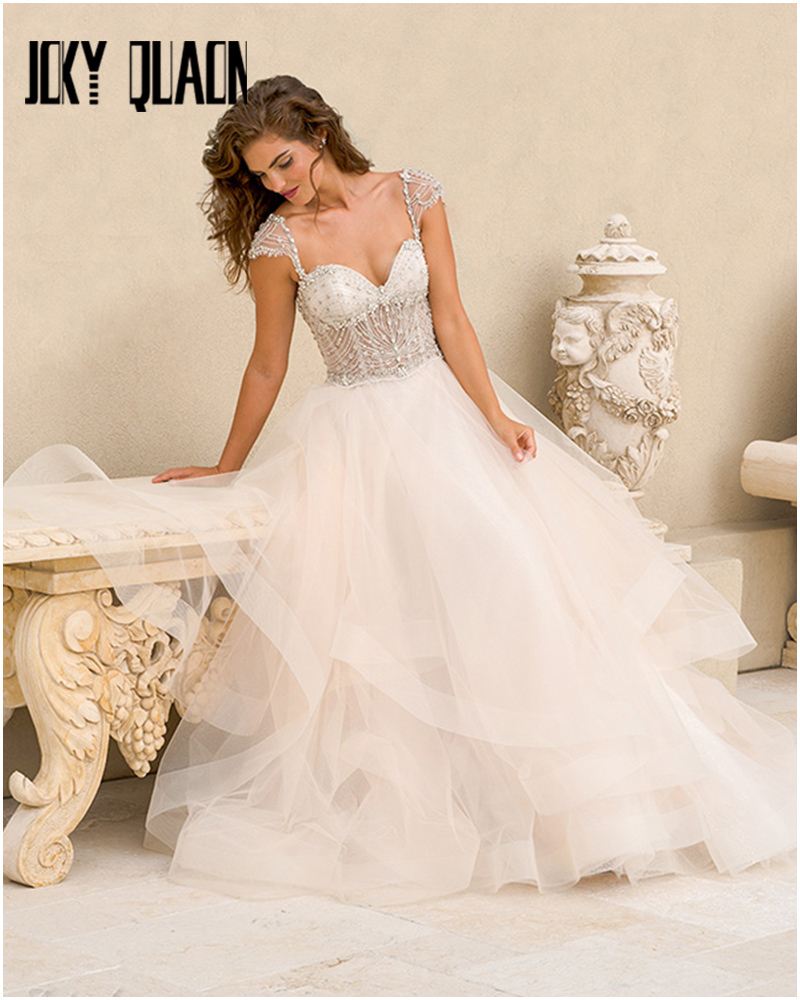 Popular sheer corset wedding dress buy cheap sheer corset for Sheer bodice wedding dress