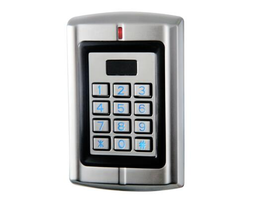 W3-H Metal waterproof Standalone backlight Keypad & RFID access control / Reader support 125khz HID card and PIN 2,000 users(China (Mainland))