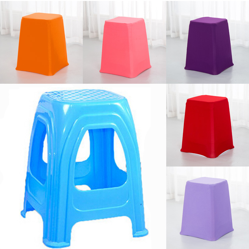 High Quality 10pcs Polyester Spandex Stretch Chair Cover Solid Colors For Weddings Banquet Hotel Decoration Decor 20 Colors(China (Mainland))